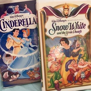 Walt Disney's Masterpiece Cinderella & Snow White
